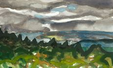 Greylock, Clouds Over the Valley (2018)